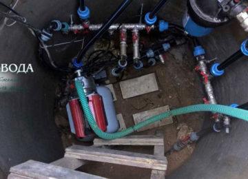 Решена проблема низкого давления воды в доме, который подключен к системе центрального водопровода.