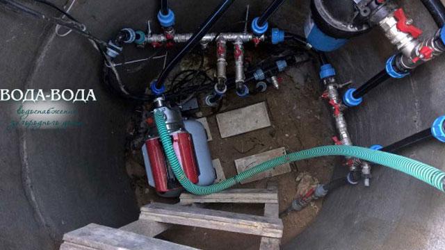 Повышение давления воды от центрального водопровода