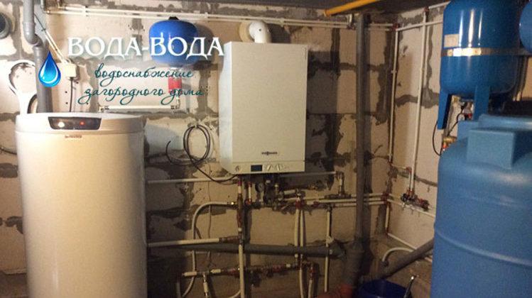 В деревне Медный завод выполнено обустройство скважины с переборкой станции второго подъема.