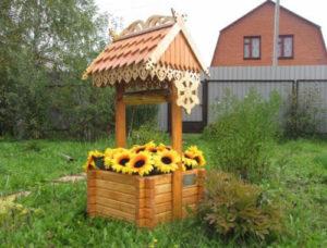 домик для колодца фото