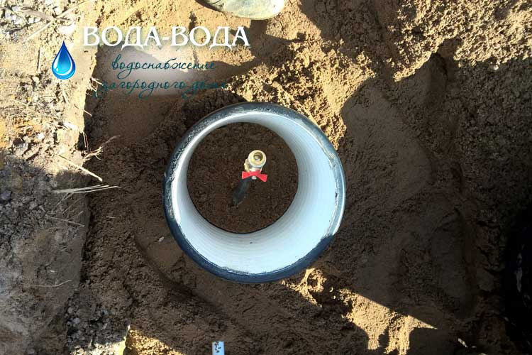 Водопровод из скважины в частном доме